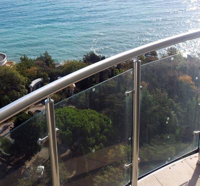 Ограждения балконов из нержавеющей стали